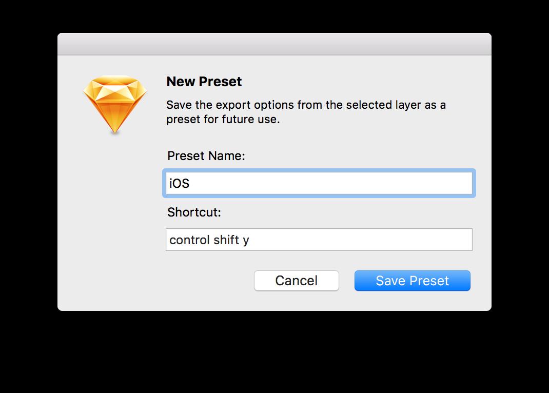 New Preset Options